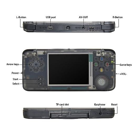 Amazon.es: CXYP Consola de Juegos portátil, Retro Game Console ...