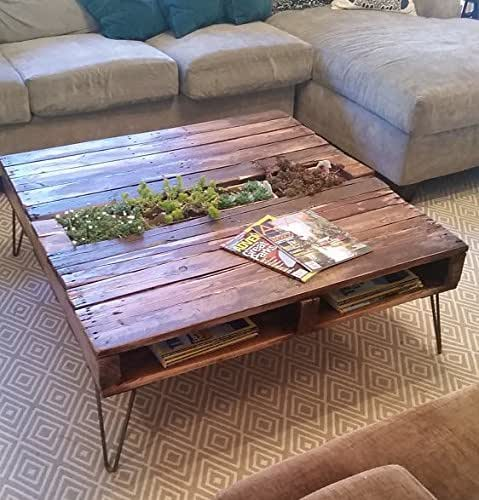 Amazon.com: Pallet Coffee Table w/Built In Removable