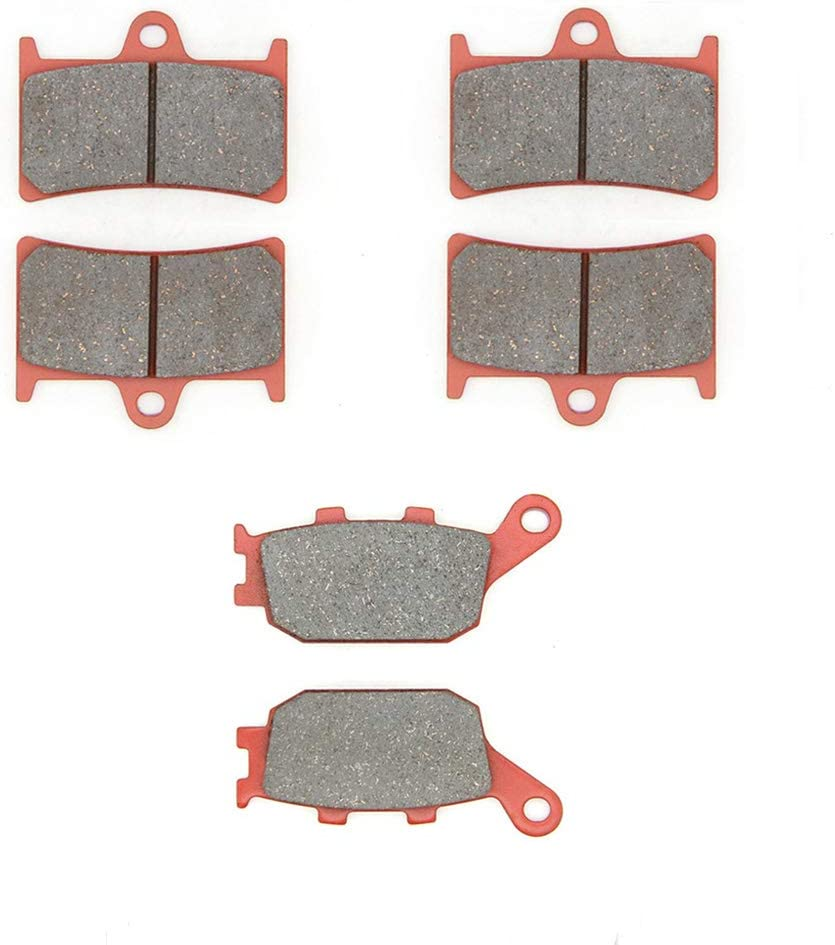 MEXITAL Plaquettes de frein c/éramique Arri/ère pour MT-09 MT 850 Tracer 900 Sport Tracker //FZ1 Fazer 08-15 //FZ1 Fazer //FZ1 FZS 1000 06-14 2017 06-15 04-06 //FZ-10 //YZF R1 14-18