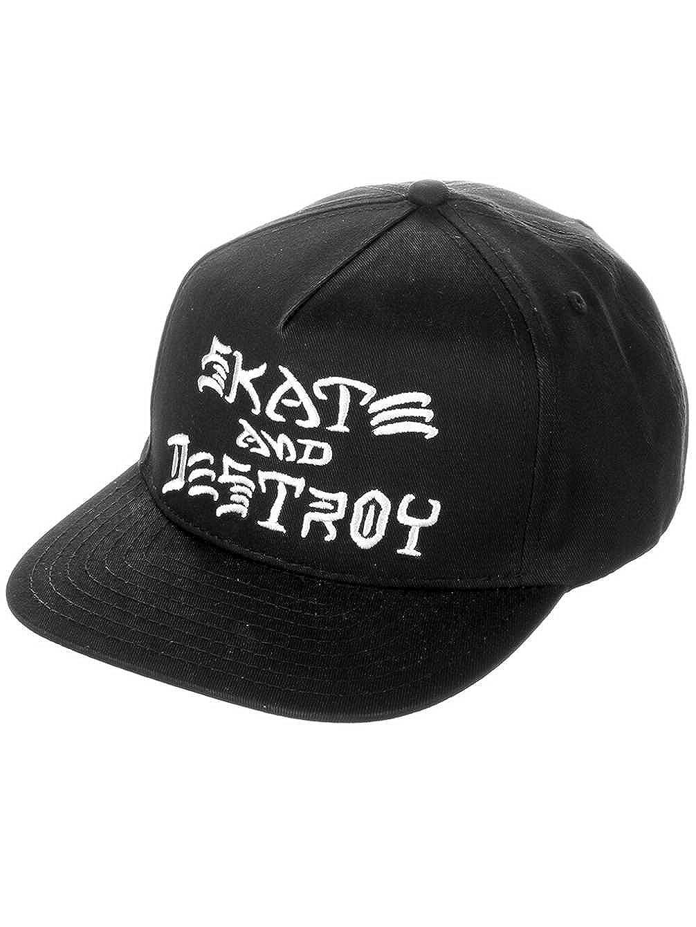 Thrasher Skate and Destroy Adjustable Skateboard Hat Cap (Black 3805f06fdc1