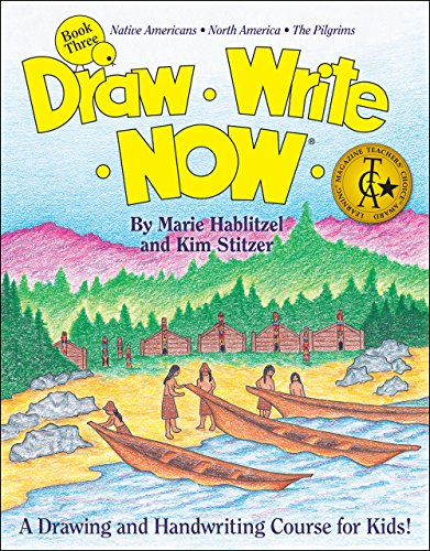 draw write now These are unusual books, combining art instruction with handwriting practice, and incorporating more than a little history and science instruction along the way.