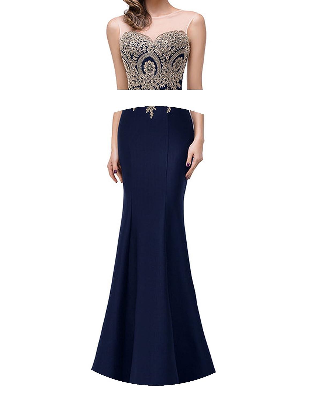 better-caress Blue Lilac Mermaid 2018 Long Robe Demoiselle dhonneur