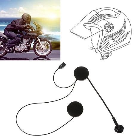 Yefun - Auriculares de diadema Bluetooth para casco de moto, auriculares inalámbricos, manos libres