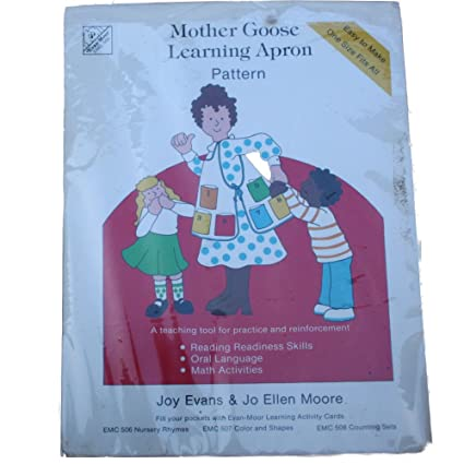 Amazon.com: Evans Moore EMC505 Sewing Pattern Mother Goose Learning ...