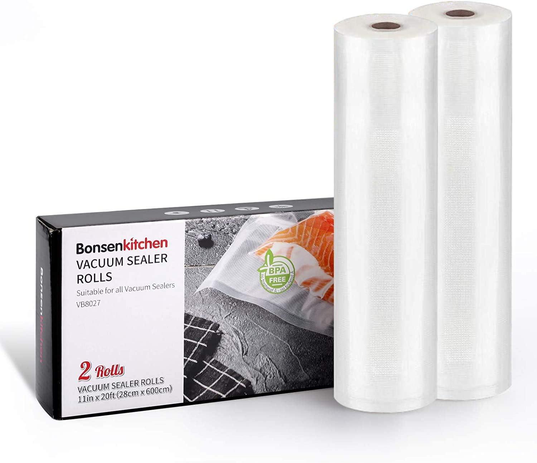 Vacuum Sealer Bags, 2 Roll 11