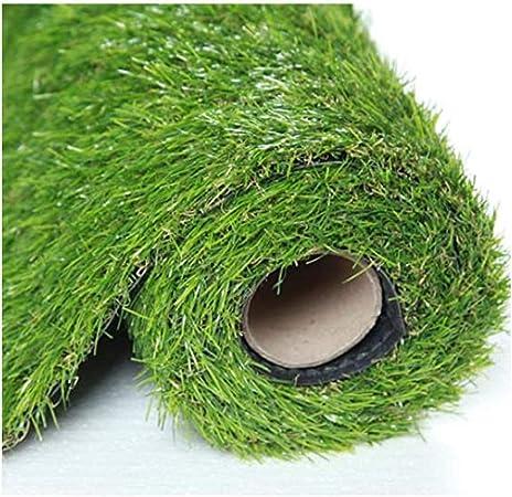 GHHZZQ Hierba Sintética Alta Densidad Hierba Otoño con Agujero Drenaje Hierba Alta 2.5cm Césped Sintético Alfombra, Jardín Patio Alfombra for Mascotas (Color : 3.0cm, Size : 2x7m): Amazon.es: Hogar