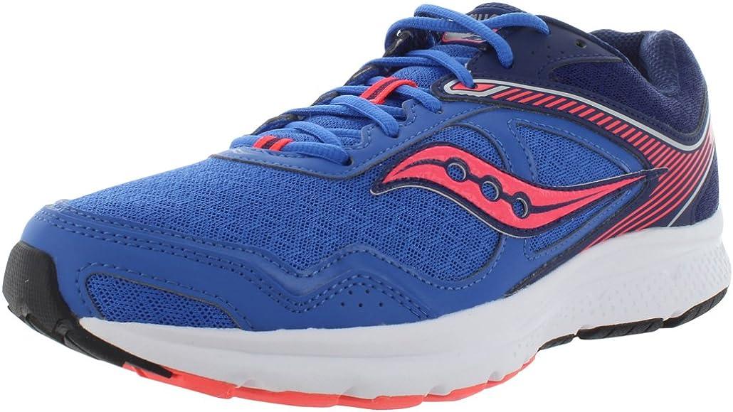 Cohesi¨®n para mujeres 10 Zapatillas para correr, Blue / Cor, 6.5 M US: Amazon.es: Zapatos y complementos