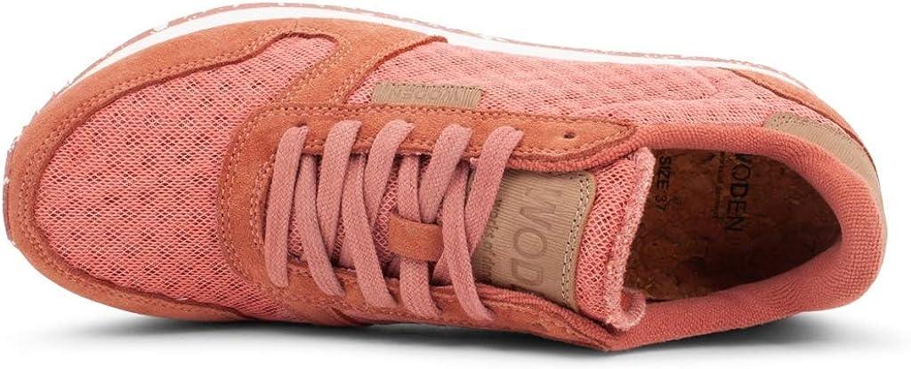 Woden Sneakers Ydun Suede Mesh 605 Canyon Rose