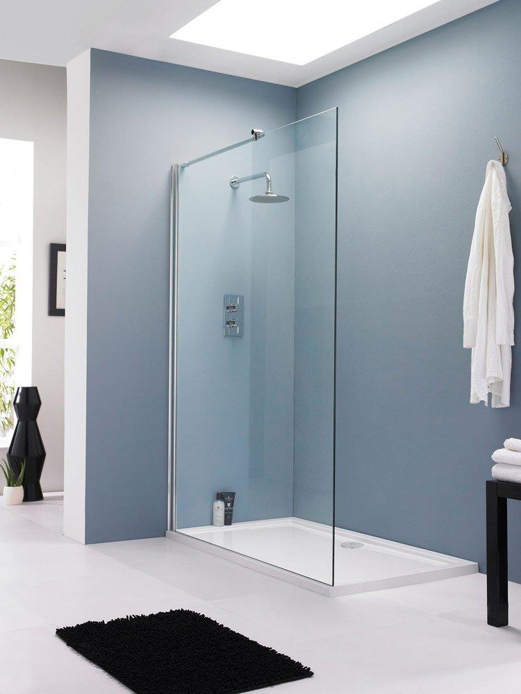 Shower Enclosures UK   900mm Walk In Wetroom Screen: Amazon.co.uk: DIY U0026  Tools Part 66