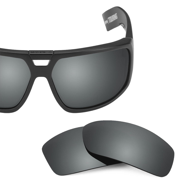 fda2064440 Revant Polarized Replacement Lenses for Spy Optic Touring Black Chrome  MirrorShield at Amazon Men s Clothing store