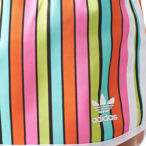 ADIDAS Pantalone multicolor Short in Stripes AJ8159 tessuto donna shorts bunt ZEwqr4PnEA