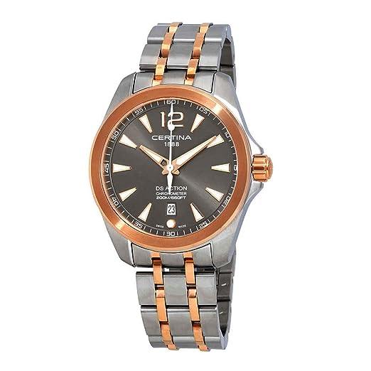 Certina DS Action Reloj de Hombre Cuarzo 41mm C032.851.22.087.00: Amazon.es: Relojes