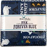 FFA Forever Blue 5'' Stacker 42 5-inch Squares Charm Pack Riley Blake Designs 5-7210-42