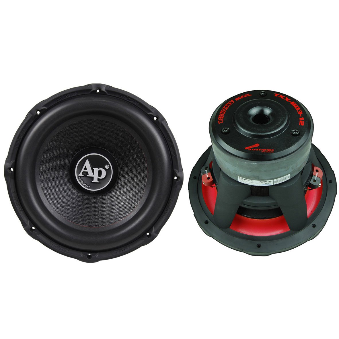 2) Audiopipe TXX-BD3-12 12'' 3600W Car Audio Subwoofers Subs Woofers TXXBD312