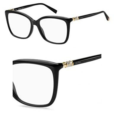 7157558d0084 Image Unavailable. Image not available for. Color: Eyeglasses Max Mara Mm  1338 0807 Black