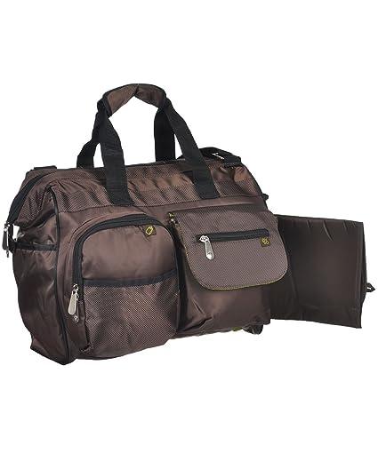 Fisher-Price – amplia apertura bolsa de pañales marrón marrón Talla:talla única