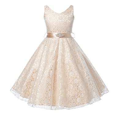 cb16cafad542 Summer Flower Girl Dress Top Grade 10 Yrs Baby Princess Dresses for Girls  Wedding Party Vestidos Infantis Kid Girls Clothes  Amazon.co.uk  Clothing
