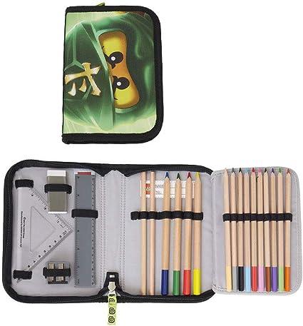 Lego – Estuche escolar/estuche/Pencil Case de Ninjago Lloyd: Amazon.es: Oficina y papelería