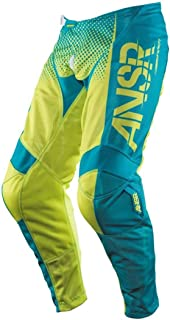 Answer Racing A17.5 Syncron Air Boys Off-Road Motorcycle Pants - Yellow/Blue / Size 18