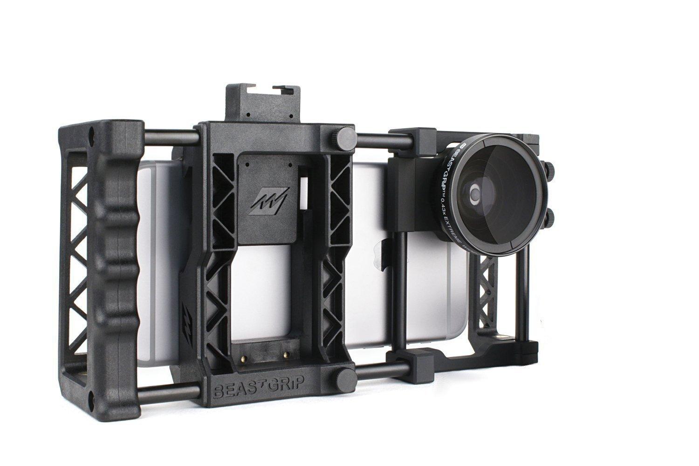 Soporte para celular Beastgrip Pro con lente gran angular