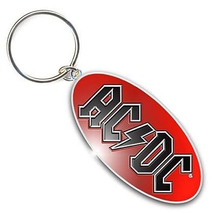 AC/DC - Llavero Rojo 6 cm: Amazon.es: Equipaje