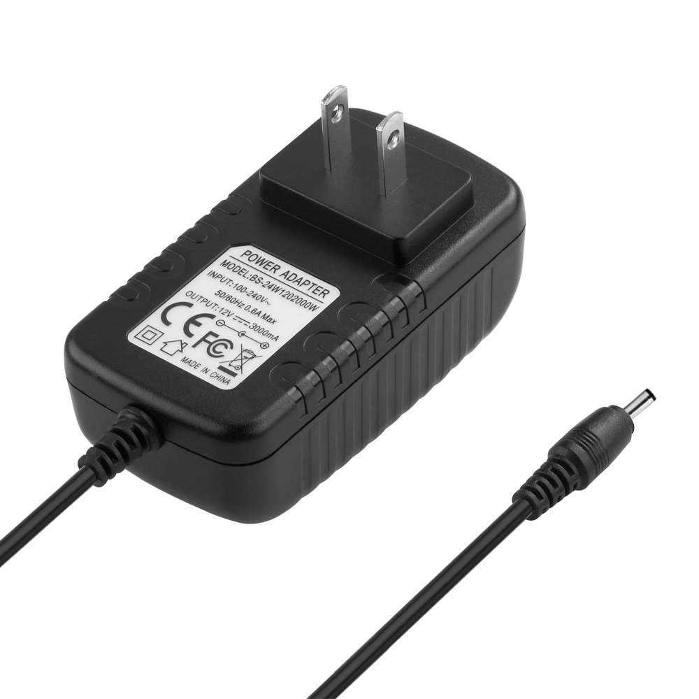 IBERLS 12V Power Adapter Replacement Western Digital Wd External Hard Drive HDD Power Cord for My Book Av DVR Expander, Live Personal Cloud, Studio, Essential Elements 1tb - 6tb, TV Media Player by IBERLS (Image #3)