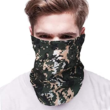 Outdoors Face Mask Bandanas for Dust Festivals Sports