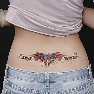 tzxdbh 5Pcs-Etiqueta engomada del Tatuaje a Prueba de Agua Tatuaje ...