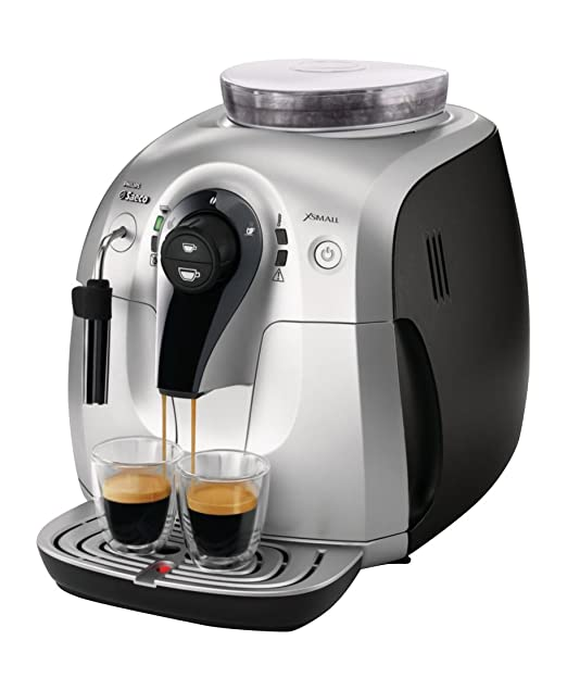 Saeco Xsmall HD8745/47 - Cafetera (Independiente, Máquina espresso ...
