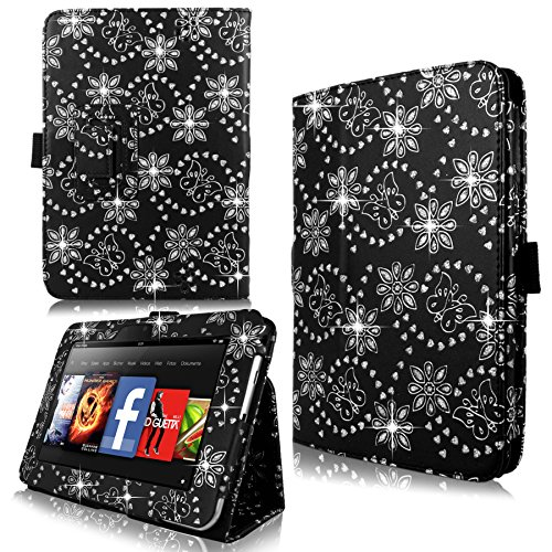 Cellularvilla Amazon Kindle Leather Glitter
