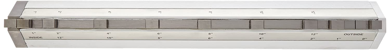 Fowler 53-813-010 Caliper/Height Gage Checker, 12' Maximum Measurement
