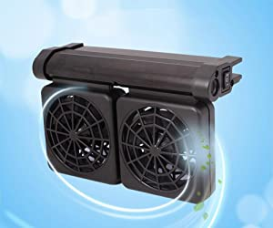 LONDAFISH Aquarium Chillers Aquarium Fan Fish Tank Cooling Fan Marine 2 Fan