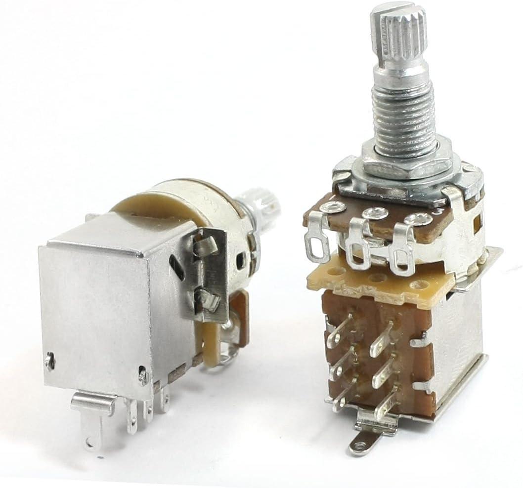 Aexit 2 piezas de ajuste superior A500k Push Pull Control de ...