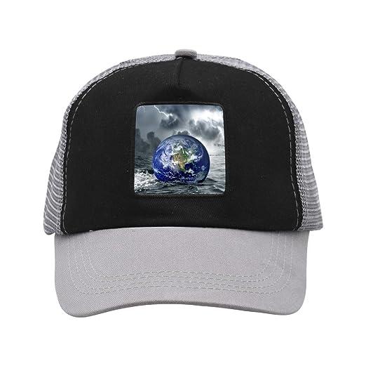 8c99166c15284 Creative Earth Crisis Graphic Trend Creative Baseball Cap Shade Fashion  Unisex Grid Dad Hat at Amazon Men s Clothing store
