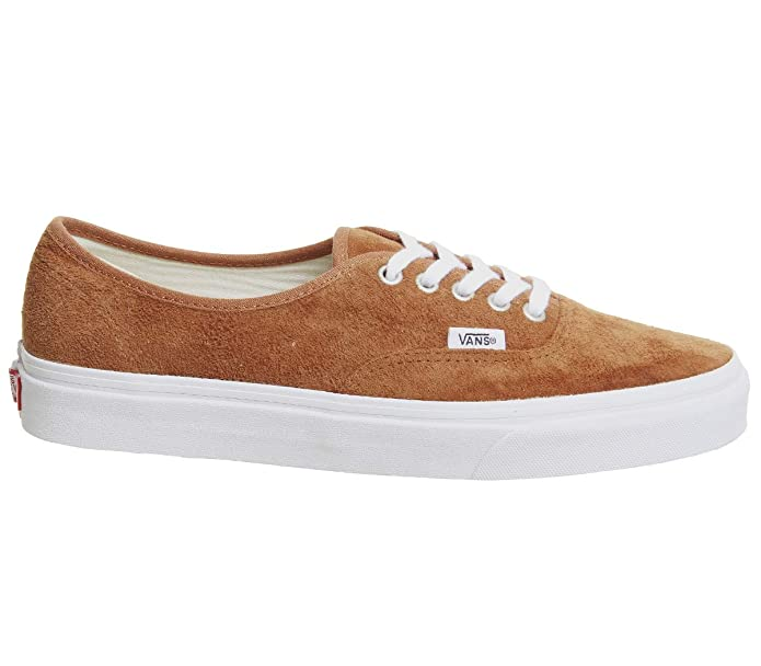 Vans Authentic Kinder/Erwachsene Unisex Sneakers Leder Braun