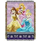 Disney Princess Sparkle Dream 48x 60 Woven Tapestry Throw