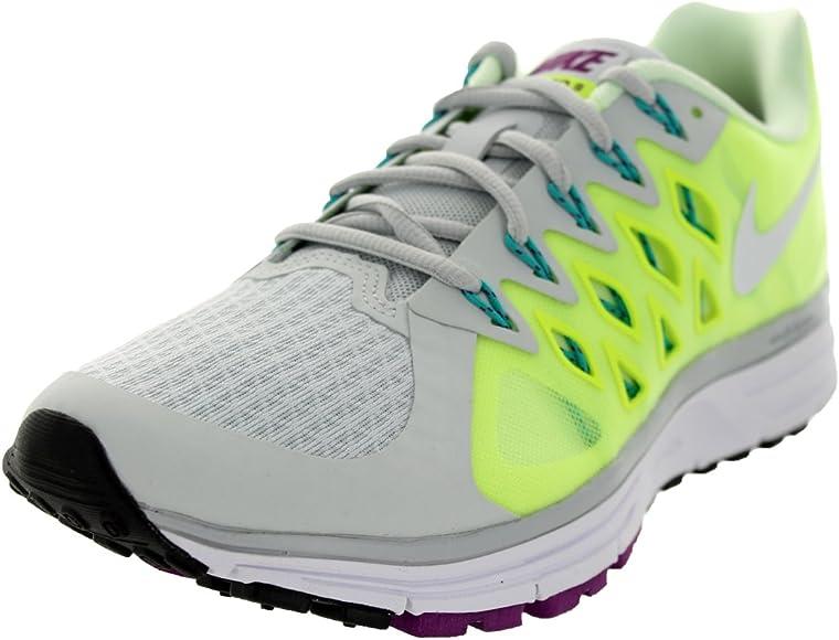 Nike Wmns Zoom Vomero 9, Zapatillas de Running para Mujer, Plateado (Pr Platinum/White-Vlt-Brly Vlt), 38 EU: Amazon.es: Zapatos y complementos