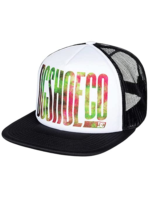 DC Shoes Trippy Gorra, Hombre, Blanco (Bright White Solid), Talla Única