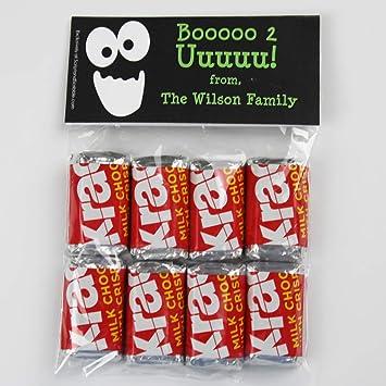 2641ab848bcc Amazon.com   Boo 2 U Halloween Candy Bag Toppers