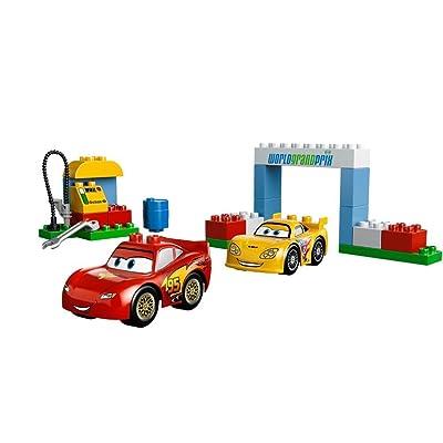 Duplo De Premier Lego La Course 6133 Âge Grande Cars Jouet fb6yYv7g