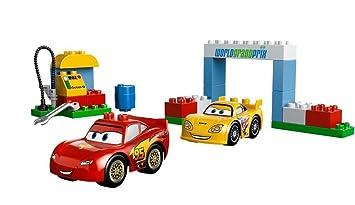 Lego Duplo Cars 6133 Race Day Amazoncouk Toys Games