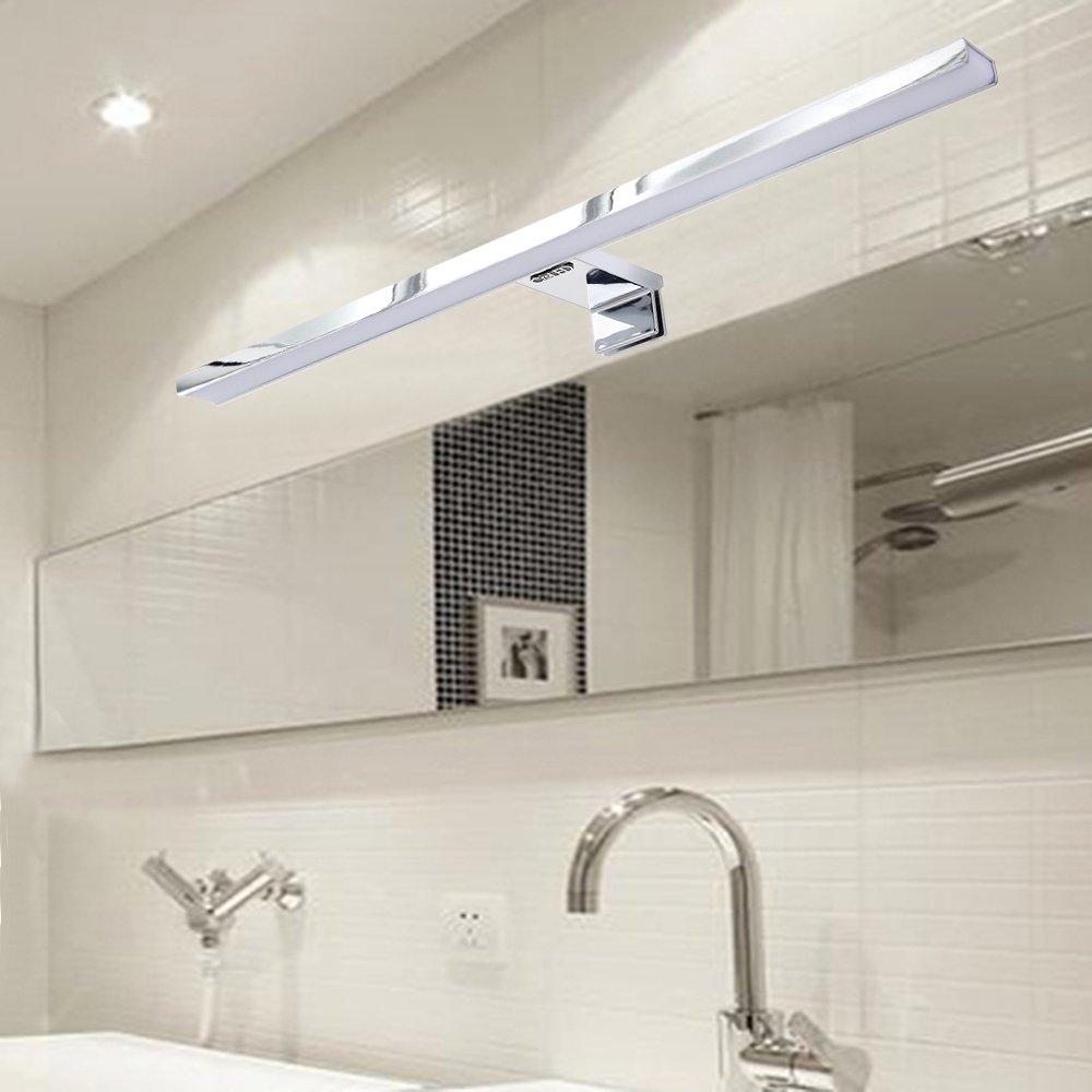 Miroir salle de bain lumineux avec prise de courant for Miroir de courant mos