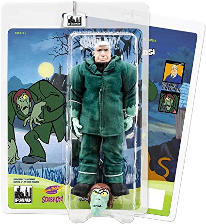 Scooby Doo Retro 8 Inch Action Figures Series Scared Variant Shaggy