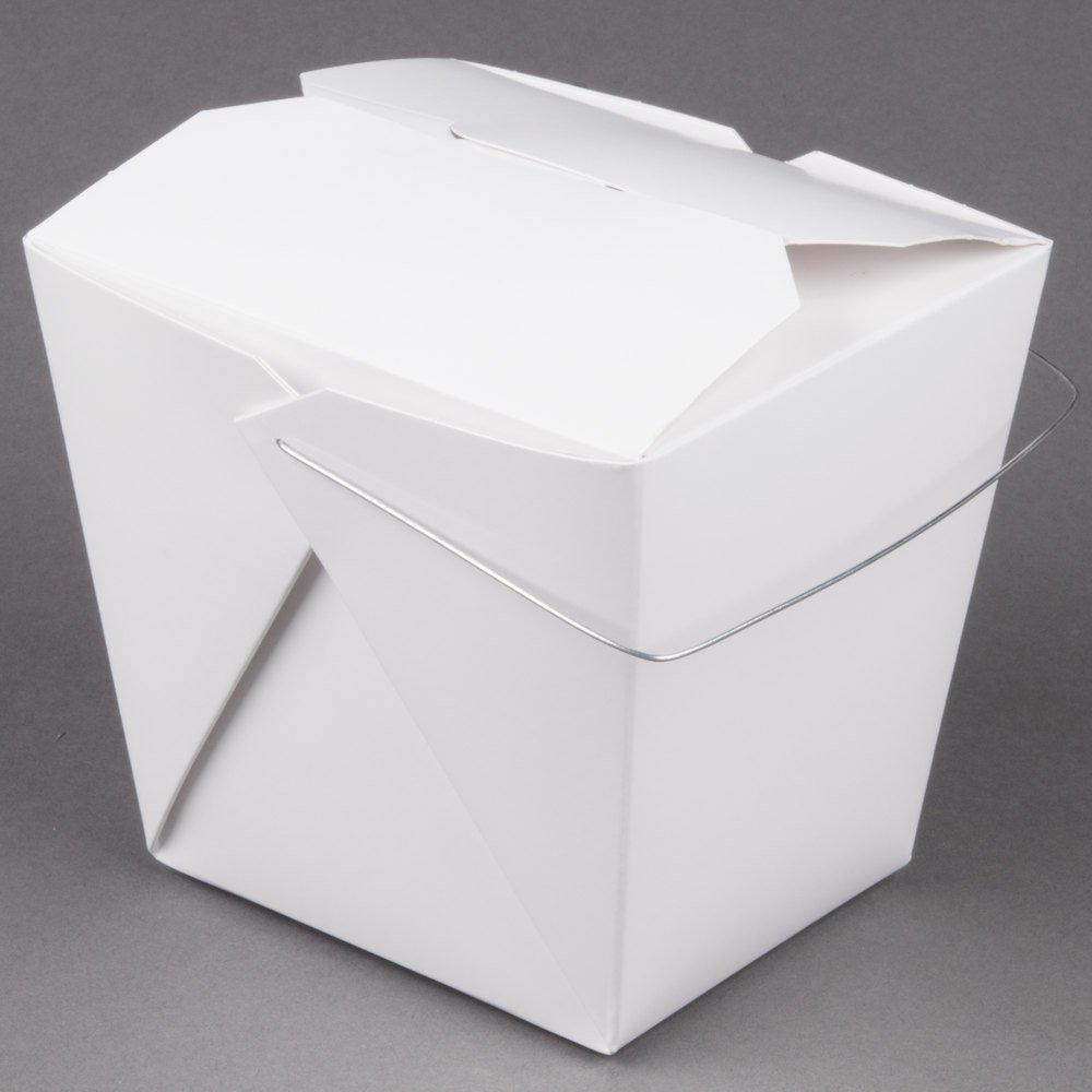 Amazon.com: Fold-Pak 64WHWHITEM 64 oz. White Chinese / Asian Paper ...