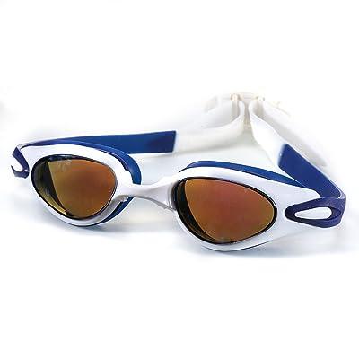 Adulte Hommes Lunettes Natation Imperméable Protection UV Anti Brouillard Clair Natation Lunettes Avec