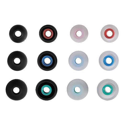 2 opinioni per Hama- Gommini di ricambio per auricolari, in silicone, misura S-L, 12 pezzi,