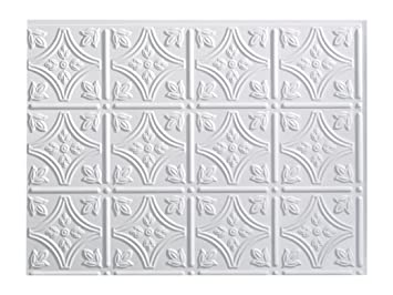 Super Fasade Easy Installation Traditional 1 Gloss White Backsplash Panel For Kitchen And Bathrooms 18 X 24 Panel Download Free Architecture Designs Salvmadebymaigaardcom
