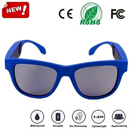 b29252f5ff Sahala G1 Wilreless Bluetooth Bone Conduction Glasses Polarized Sunglasses  Headphone Hearing Aid Sports Headsets Waterproof Sweat