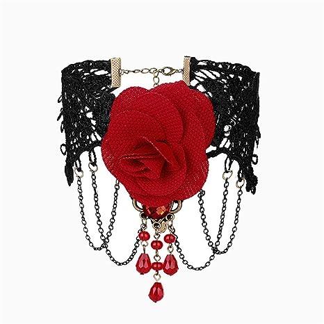 Zxllyntop-Fashion Cadena para Gafas de Sol Cinta gótica ...