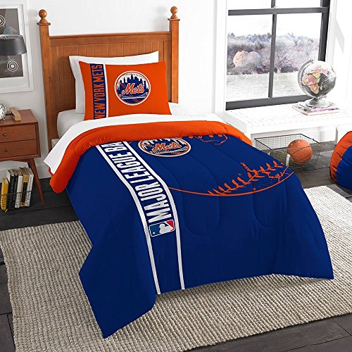 Northwest New York Mets MLB Twin Comforter Set